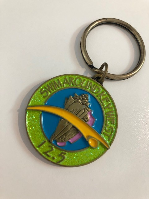 Kayaker Keychain