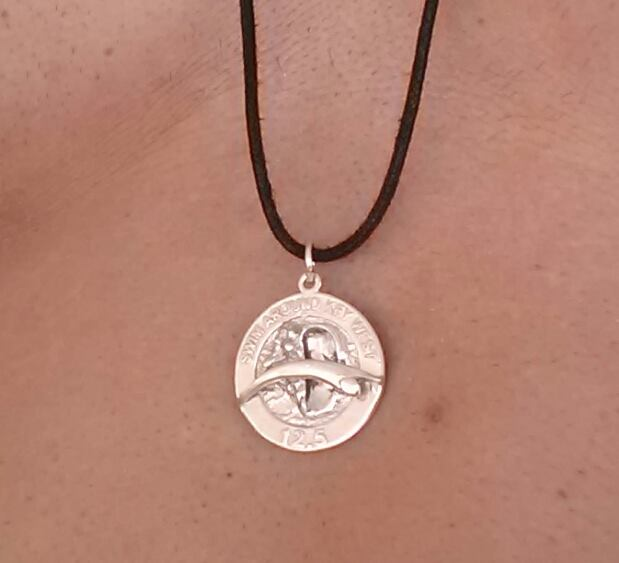 Sterling Silver Solo Finisher's Medal